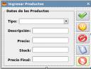 pantalla productos